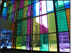Colors of Palais des Congres (Dae-Wang) Tags: canada colors architecture quebec montreal palaisdescongres platinumphoto goldstaraward