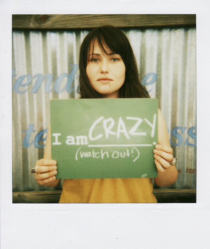 i am crazy watch out. / jackie young