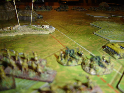 Japanese left flank readies advance - Battle near Beach Green 3