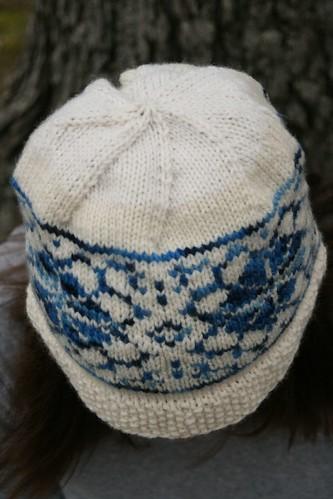 malabrigo & patons hat