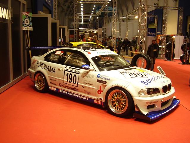 auto car racecar germany deutschland essen 2006 bmw m3 motorshow 190 essenmotorshow sportwagen bmwm3 rennwagen bonkmotorsport vlnrennwagen