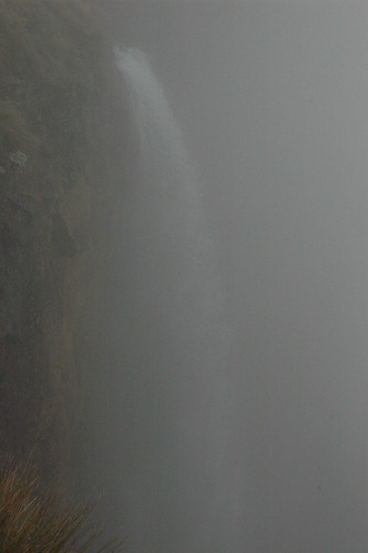 The Falls in the Fog (by Louis Rossouw)