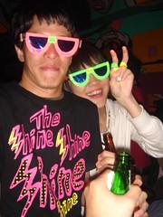 自製眼鏡二人組