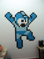 Mega Man en post-it