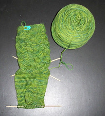 Monkey Sock 1 - heel
