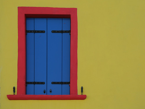Colorful Burano window