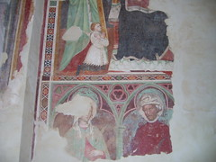SAGRESTIA AFFRESCHI DI LORENZO SALIMBENI 1428 (pieroviaggi) Tags: lorenzoejacoposalimbeni