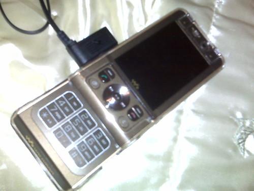W910i mon nouveau telephone
