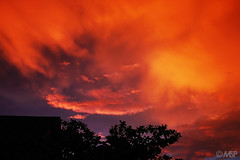 sunset (msp001) Tags: blue sunset red sky orange clouds canon purple 40d aplusphoto teampilipinas