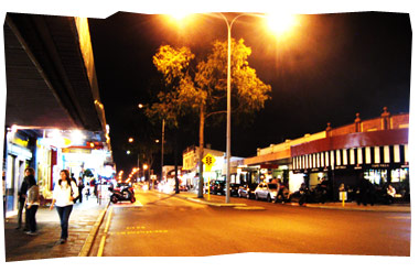 Night Time at Oxford Street, Leederville