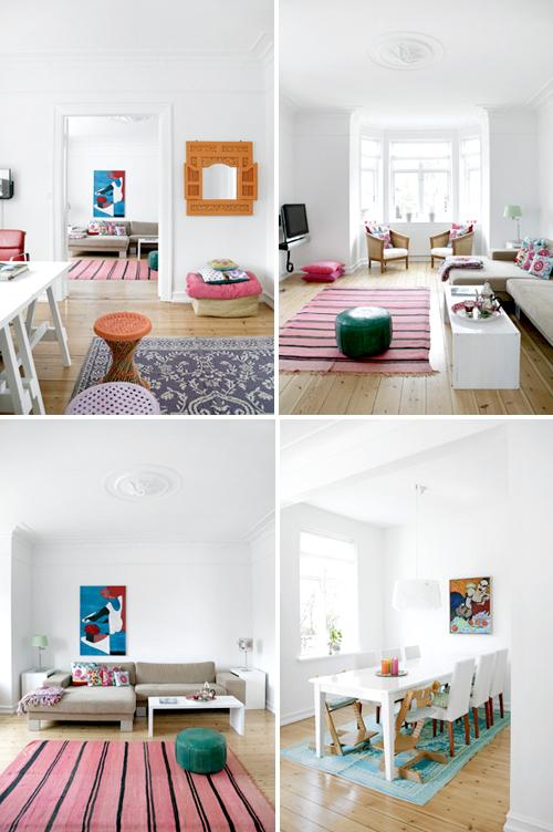 white danish home