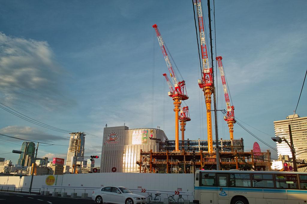 Under Constructing @Osaka Station