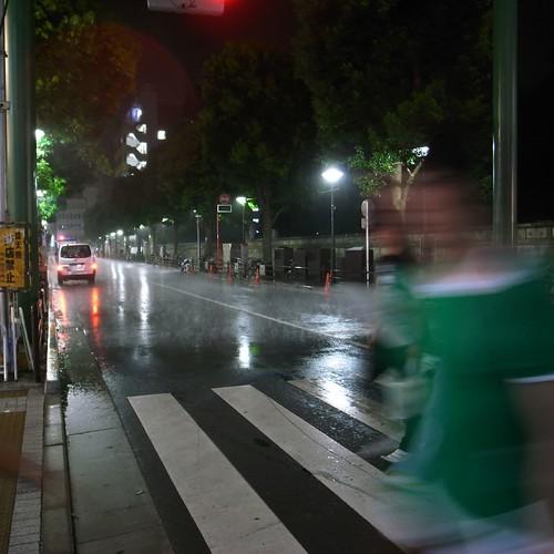 突然のゲリラ豪雨