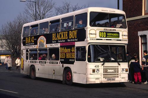 Northumbria Motor Services Leyland Olympian / ECW 433 (C261UAJ)
