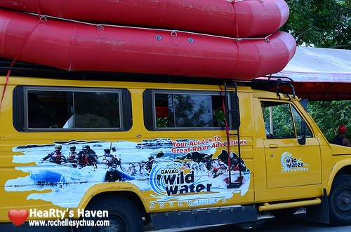 vehicle going to Davao Wild Water Advenure