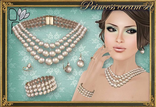 PRINCESS cream set