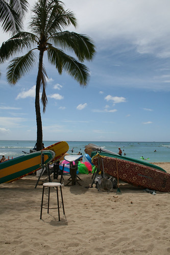 waikiki beach — oct 4