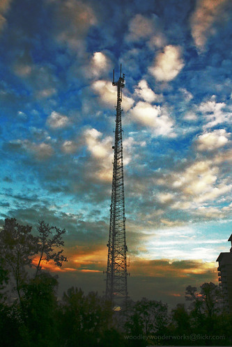 television transmission tower