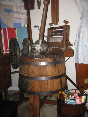 yepper lol softener damnit old fashioned washing machine