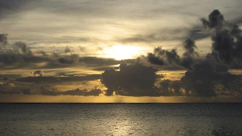 Night 2 - Pacific Sunset on Moorea