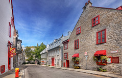 Rue du Parloir, Quebec City (David Giral | davidgiralphoto.com) Tags: old city houses canada architecture nikon quebec sigma qubec d200 1020mm rue hdr ville 3xp sigma1020 parloir
