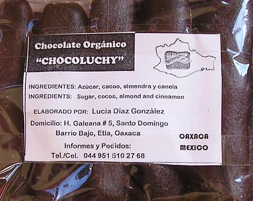Señora Lucia's Famous Chocolate