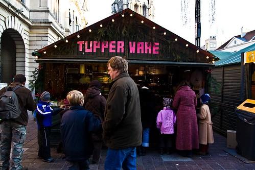 Kerstmarkt Gent - Tupper Ware