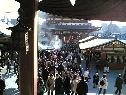 Sensoji temple , ASAKUSA