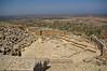 L'orquestra-arena del teatre grec-amfiteatre romà, Cirene