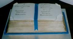 Cacen bedydd (MorfuddNia) Tags: cake christening cacen christeningcake bedydd cacenbedydd