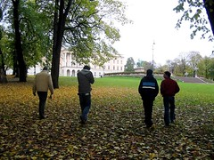 Walking in Oslo (Endecott) Tags: fall me oslo norway jo