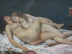 The L word by Courbet (spirit.sybarite) Tags: paris museum femme muse palais petit courbet lesbienne rotisme