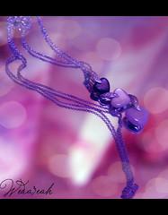 .. am Sooo LOVELY  (Weda3eah*) Tags: black rose three heart gray qatar damas selver pinck meror weda3eah