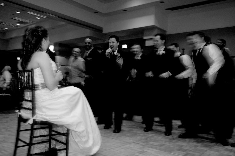 Singing to his Bride