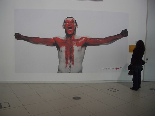 Wayne Rooney at Urbis: Just Doo It