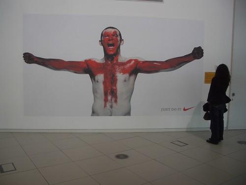 Wayne Rooney at Urbis: Just Doo It