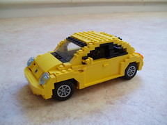 Volkswagen New Beetle (Mad physicist) Tags: vw volkswagen lego beetle newbeetle