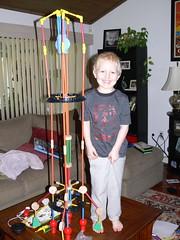 That's a tall rocket!