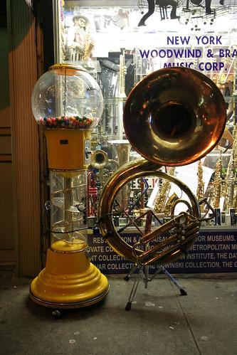 Gumball sousaphone