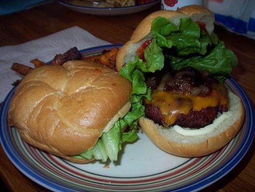 bacon burger 2