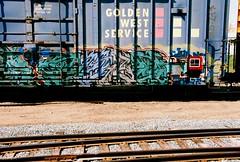 Ryno (All Seeing) Tags: art graffiti trains sfgraffiti ryno kts graffitiart freights gws paintedtrains railart sanfranciscograffiti monikers goldenwestservice freightgraffiti boxcarart bayareagraffiti ryno1