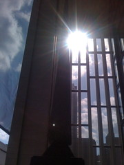 Sunlight on Metropolitan Opera Balcony