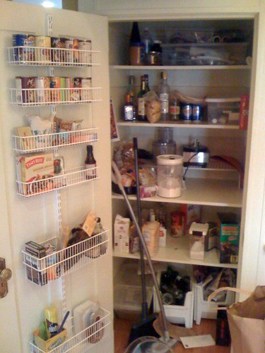 kichen cure - pantry before decluttering