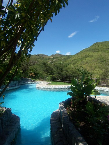 Andes-fed Pool in Vilcabamba, Ecuador