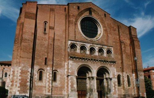 Basilica de Saint-Sernin, Toulouse.