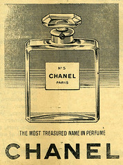 Chanel vintage advert by pheester