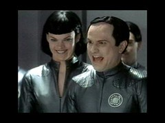Thermians Lailani (Missi Pyle) and Mathesar (Enrico Colantoni)