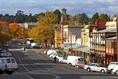 Beechworth, Victoria, Australia, Ford Street, autumn IMG_9901_Beechworth