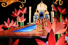 Disney - Small World Taj Mahal (Express Monorail) Tags: pink blue usa india wet water colors orlando lowlight colorful asia dolls ride florida f14 magic details january sigma kingdom tajmahal disney disneyworld handheld noiseninja wdw waltdisneyworld walt 2008 magical themepark itsasmallworld magickingdom attractions fantasyland waltdisney 30mm darkride disneyparks nikond40 secondchancechallenge disneyride paintshopprophotox2 classicfantasylanddarkride disneyphotochallenge