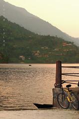 Horse of the forgotten Knight (RainWalker) Tags: nepal lake bike bicycle hills pokhara fewalake